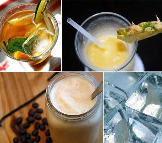 Recipes by alcohol. Click on alcohol, list of drinks comes up.