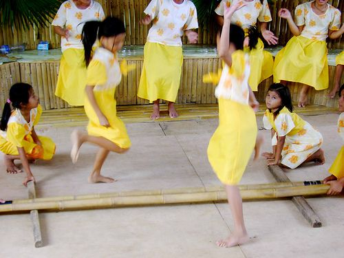 teach kids tinikling and filipino culture!