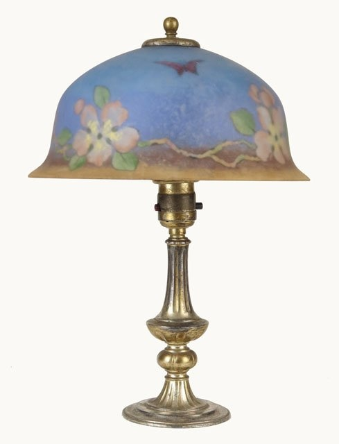 217 Best Images About Reverse Painted Glass Lamps On