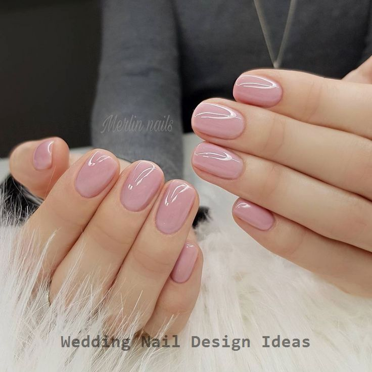 35 Simple Ideas for Wedding Nails Design 1 #naildesign