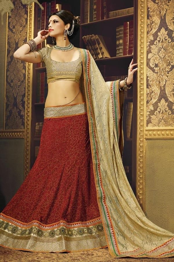 Look Magnificent with New Maroon Velvet and Net Lehenga Choli Shop now,  http://zohraa.com/sarees/sari/lehenga-choli/maroon-velvet-lehenga-choli-z1570p1506-18.html sku : 58904  Rs. 9,849 #lehengaonline #lehengacholi #lehenga #wedding