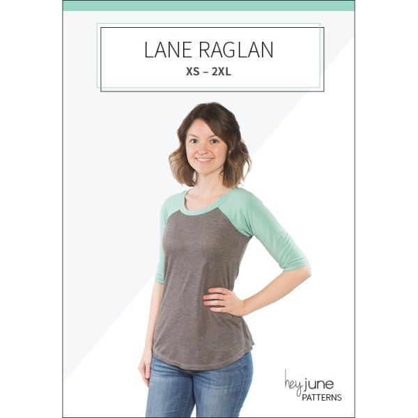 Lane Raglan by Hey June, great sewing pattern for knits