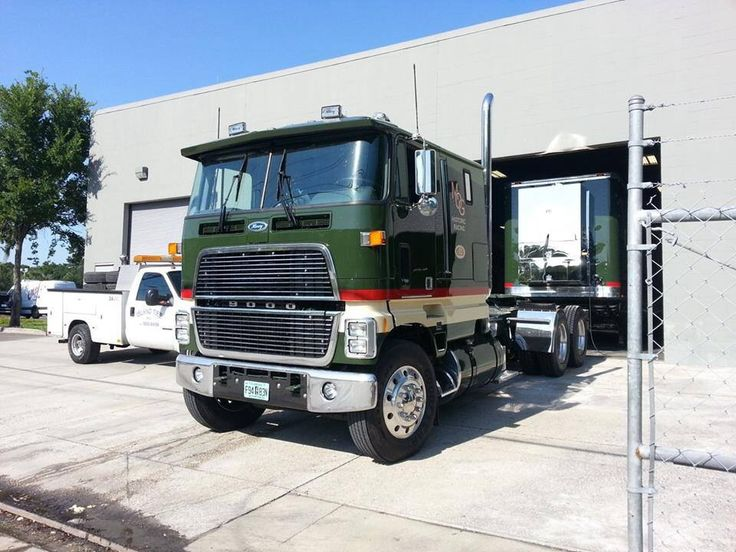 Ford 9000 Cabover Interior : Ford cabover autos post