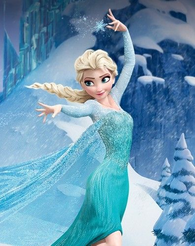 So if I were ever to be a Disney Princess, I totally want to be Elsa. Also, side note, I want to sing like Idina Menzel.