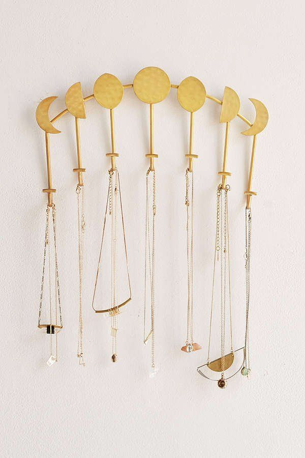 Magical Thinking Artemis Wall Mounted Necklace Holder #necklaceholder