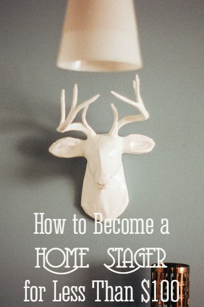 If you have an eye for design, you could start a home staging business for less than $100