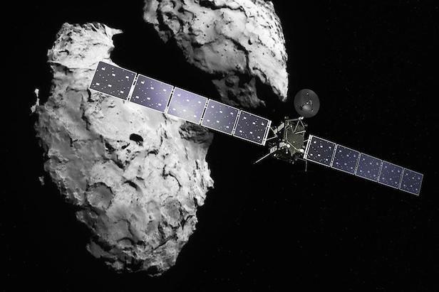 Rosetta mission to descend on comet