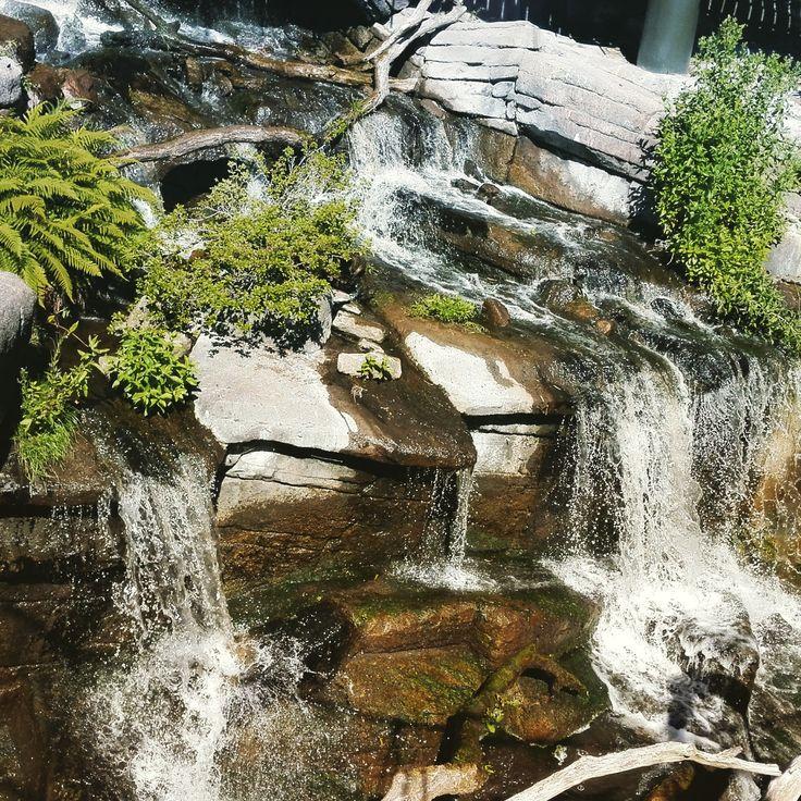 Little waterfall in Ree Park by Flemming Lauridsen on 500px