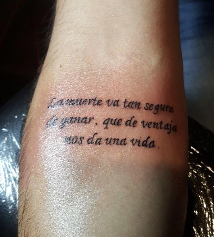 Canserbero Tattoo Fuentes De Letras Para Tatuaje Frases Para Tatuajes Hombres Tatuajes Escritos