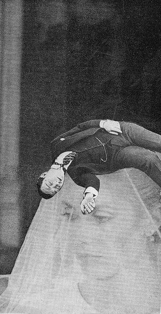 Keaton sleeping on Deneuve's head., via Flickr. So random, love it.