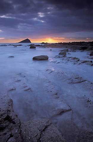 britische Inseln, Devon, Wembury, Küste