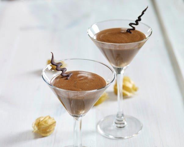 sunn sjokolademousse: Fløyelsmyk sjokolademousse - KK.no