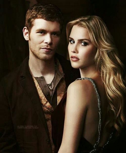 The Originals and The Vampire Diaries ... Klaus and Rebekah ... brother and sister <3