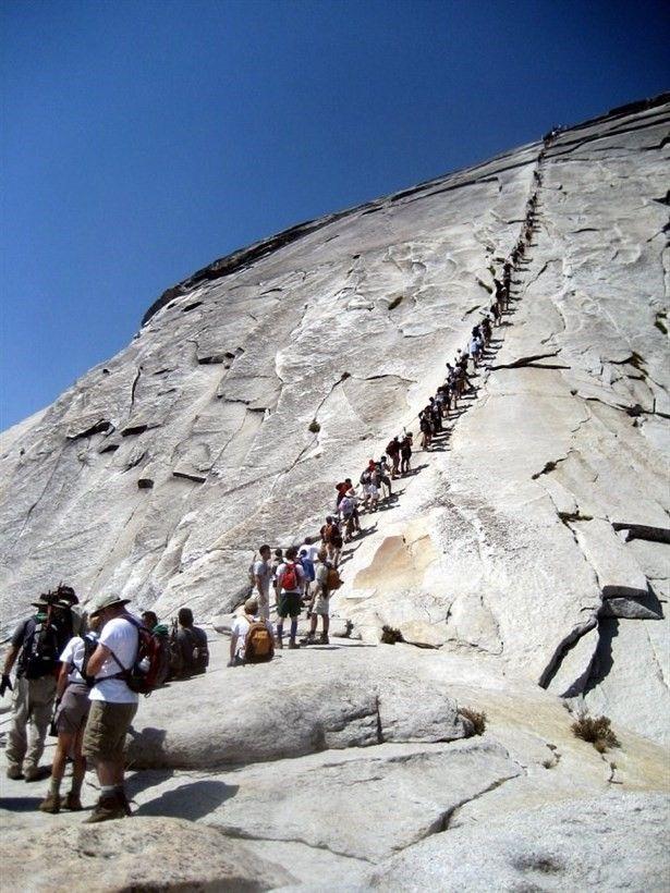 Yosemite Half Dome, ABD