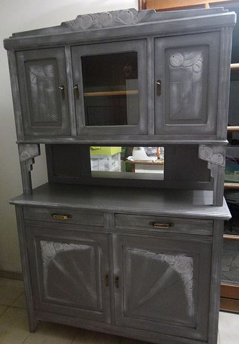 23 best meuble peint images on Pinterest Old furniture, Painted