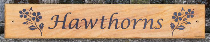 A driftwood style iroko sign with the letters slightly proud and the background blasted away. Font -  Lucida Calligraphy. Images NS407.  ref - 1308.SS.042 www.sign-maker.net/wooden/driftwood-signs.htm
