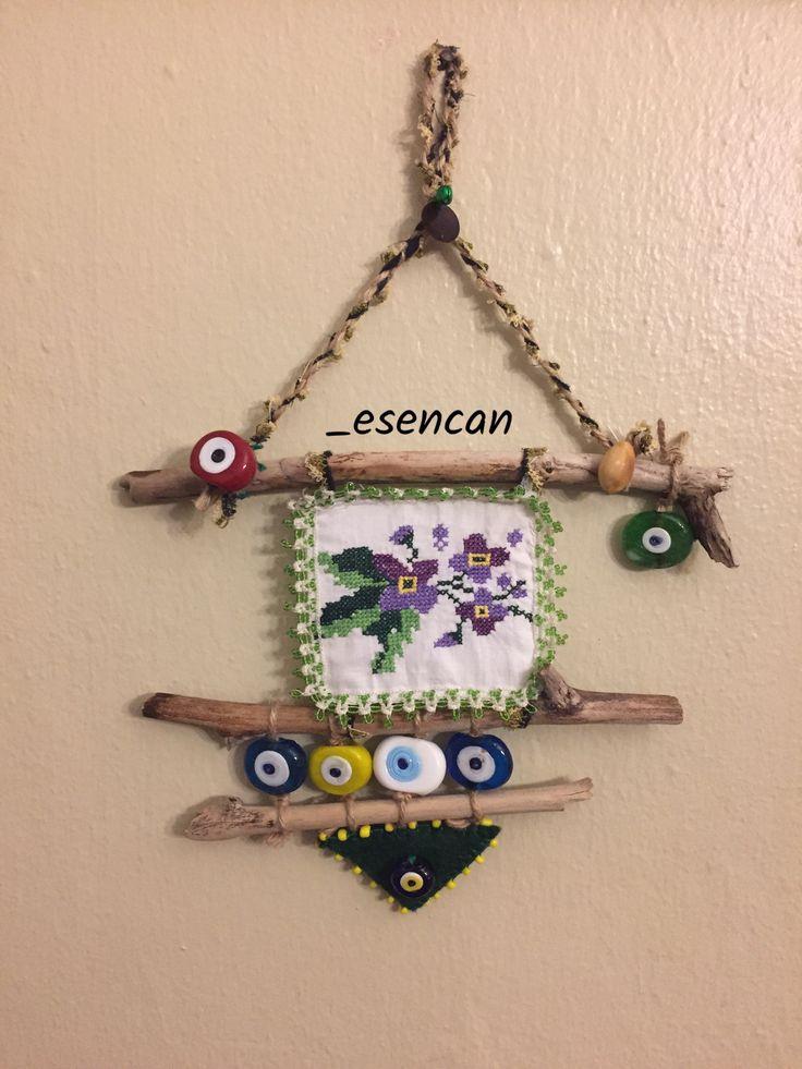 Driftwood, driftwood nazarlık, nazarlık, nazar,  turkish eye, design, hand made, ig: _esencan