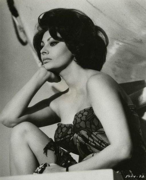 """the60sbazaar:  """"Sophia Loren  """""""