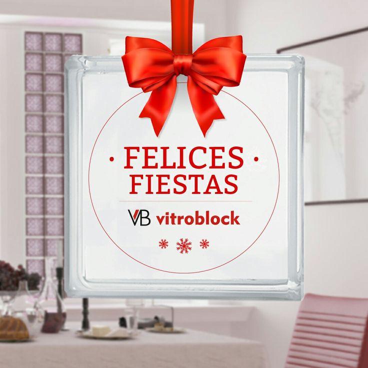 Nuestros mejores deseos para estas fiestas de parte de todo Vitroblock S.A.