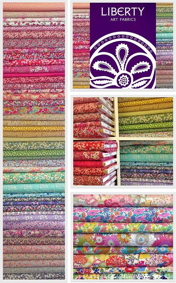 Liberty Fabric Tana Lawn The Ultimate by Alicecarolinesupply