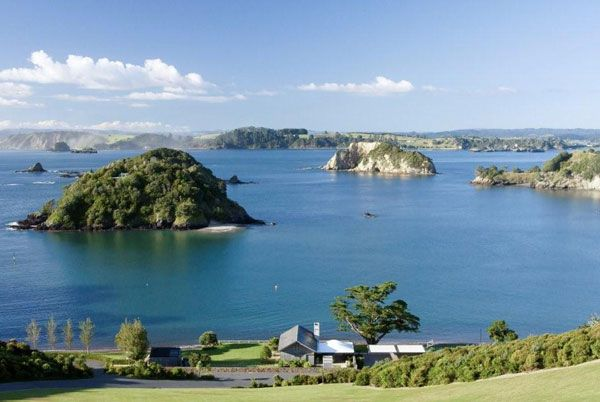 Mountain Landing is a premium coastal lifestyle development in New Zealand's Bay of Islands with an emphasis on ecological and heritage preservation.