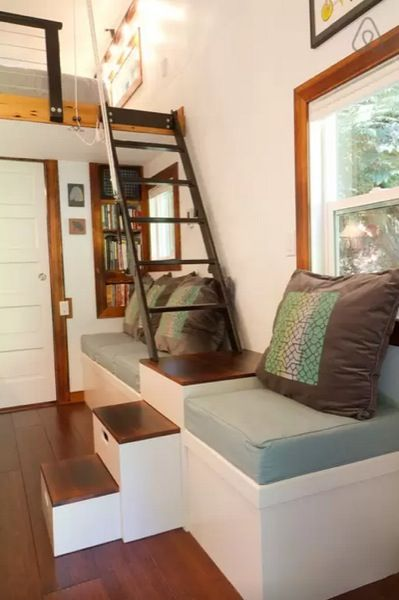 Fine 1000 Ideas About Tiny House Loft On Pinterest Tiny Homes Tiny Largest Home Design Picture Inspirations Pitcheantrous
