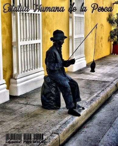 Estatua Humana, Cartagena, Colombia  © Colombia Pais Unico