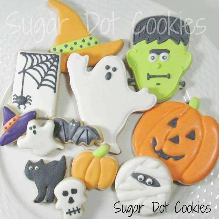halloween sugar cookies decorated ideas here i am discussing wet on wet and