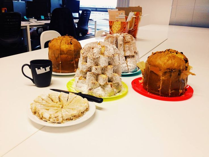 Tasting Panettone for this Cultural Friday.  Thank you our Italian buddies, you are all so sweet!