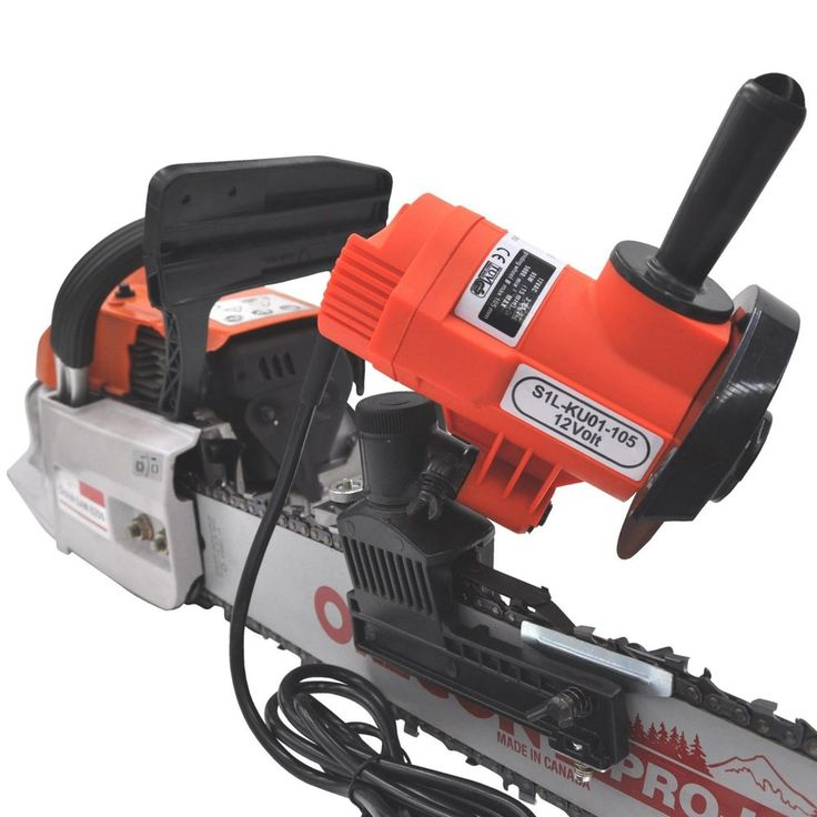 12 volt CHAINSAW SHARPENER bar mounted chain grinder