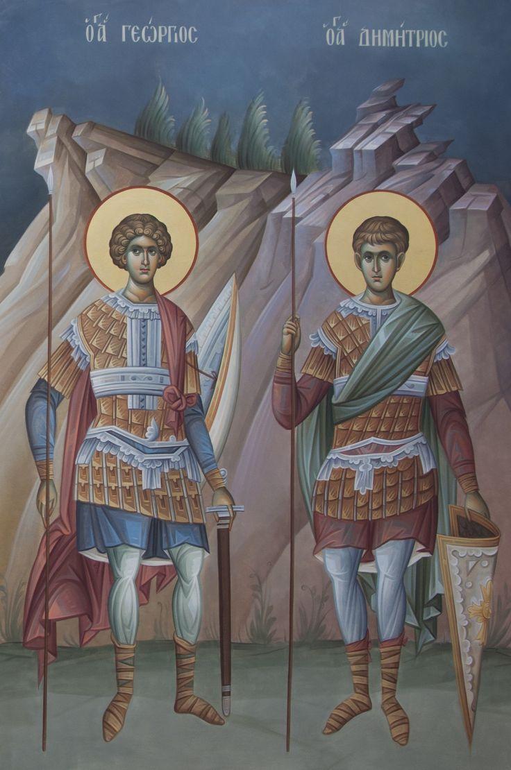 Άγιος Γεώργιος & Άγιος Δημήτριος / Saint George & Saint Demetrios