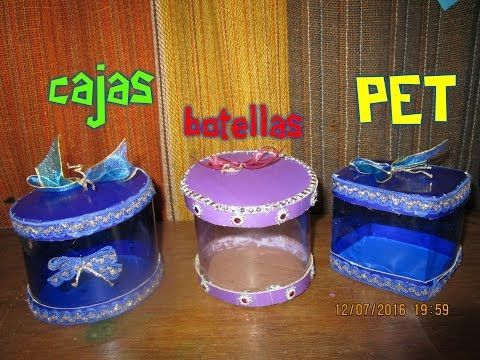(2817) CAJAS DE BOTELLAS PET - YouTube