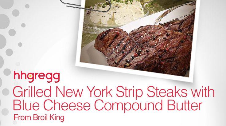 Broil King's New York Strip Steaks Recipe | hhgregg