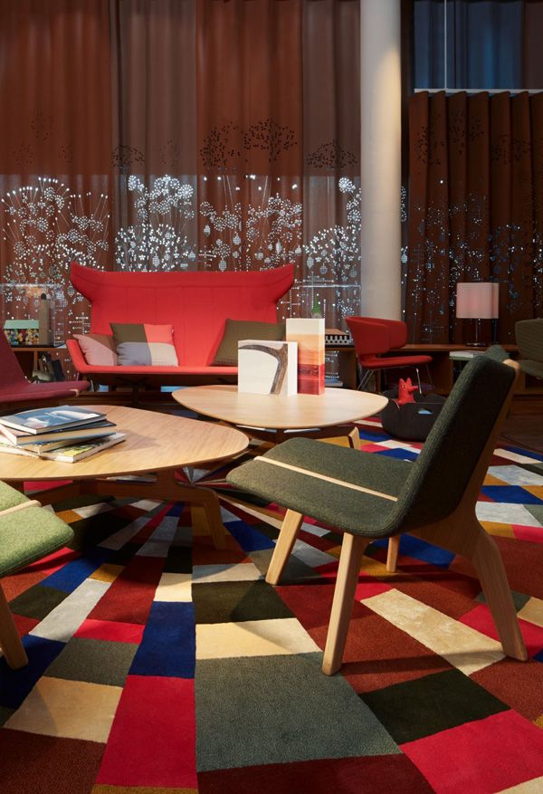 Homedesigning: U201c (via 25 Hours Hotel In Zurich Charms With Bright And  Brilliant Interiors) U201d