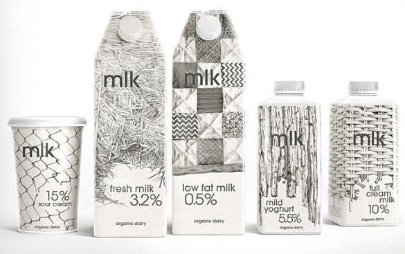 월간 디자인_ [news Worldwide] 농장 환경을 그린 일러스트레이션을 이용한, MLK 우유 패키지 디자인
