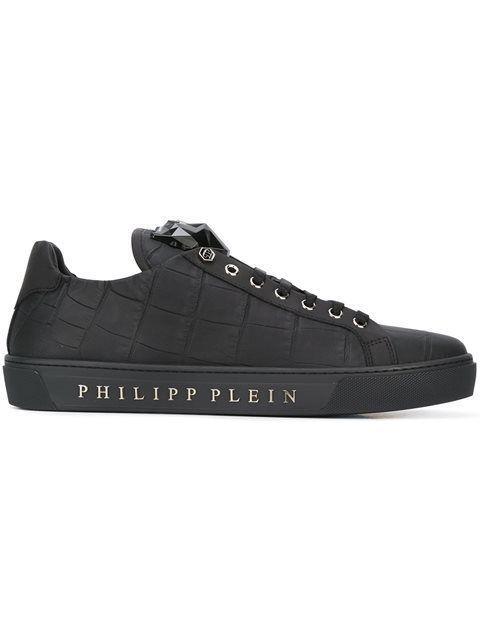 PHILIPP PLEIN 'Tusk' Sneakers. #philippplein #shoes #sneakers