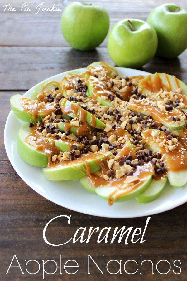 Caramel Apple Nachos on MyRecipeMagic.com