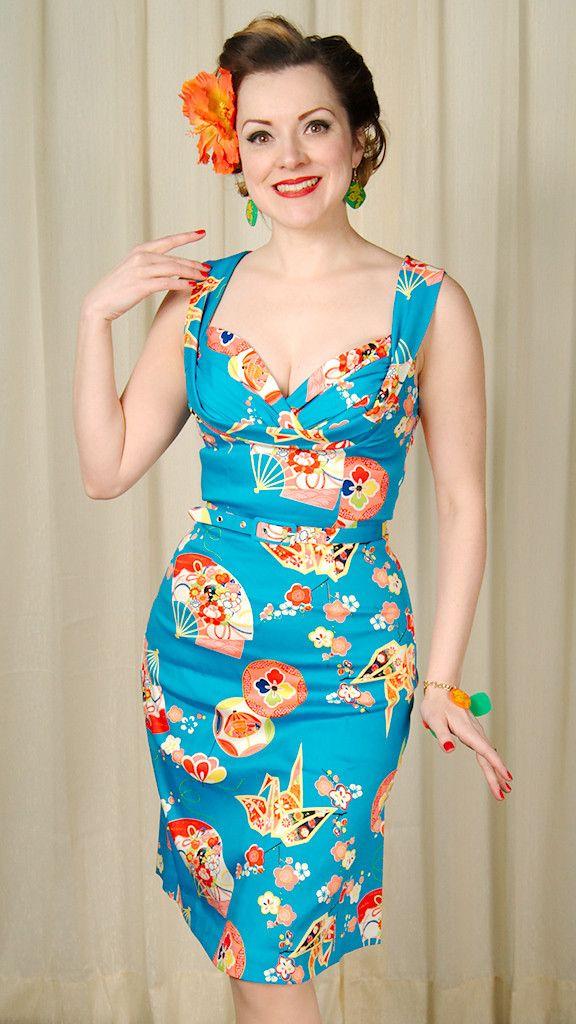Trashy Diva Geisha Fan Honeychild Dress