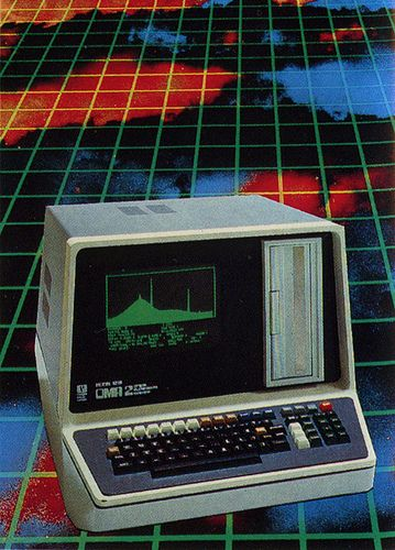 80's computer ad