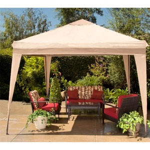 10' x 10' Pitched Roof Line Portable Patio Gazebo