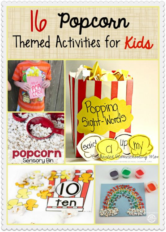 How do you celebrate National Popcorn Day on January 19? We pop up a bunch of popcorn - some to eat and some to do these popcorn activities for kids.