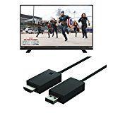Set aus Grundig 32 GFB 6621 81 cm (32 Zoll) Fernseher (Full-HD, HD Triple Tuner, DVB-T2 HD, Smart TV) und Microsoft Wireless Display Adapter V2