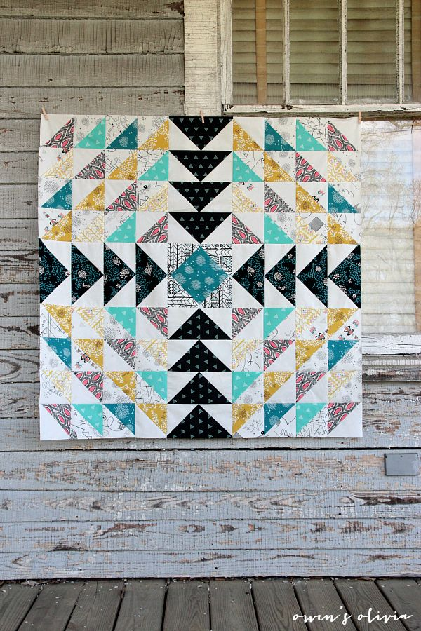 owen's olivia: Etno Quilt Top || Pat Bravo of Art Gallery Fabrics