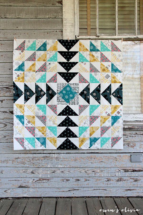 Etno Quilt Top || Pat Bravo of Art Gallery Fabrics | owen's olivia (fabric)