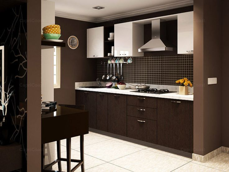 List of modular kitchen supplier dealers from ambala for Small indian kitchen design