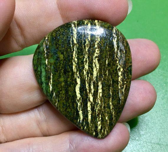 Arizona pietersite cabochon 57Ct for DIY jewelry by Gemsplusleather - 12$ #diy #cabochon #pietersite #jewelry #supply