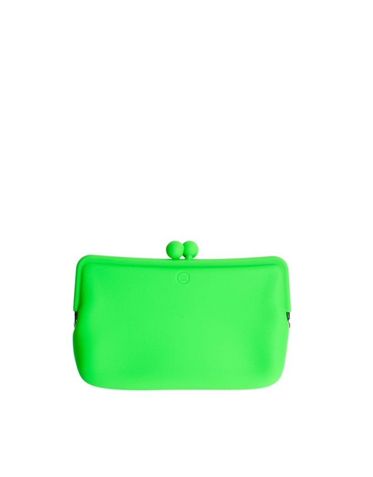 fluroJourdan Dunn, Neon Bags, Honey Pots, Style Trends, Accessories Style, Click Pics, Green Clutches, Fluro Green, Bags Accessories