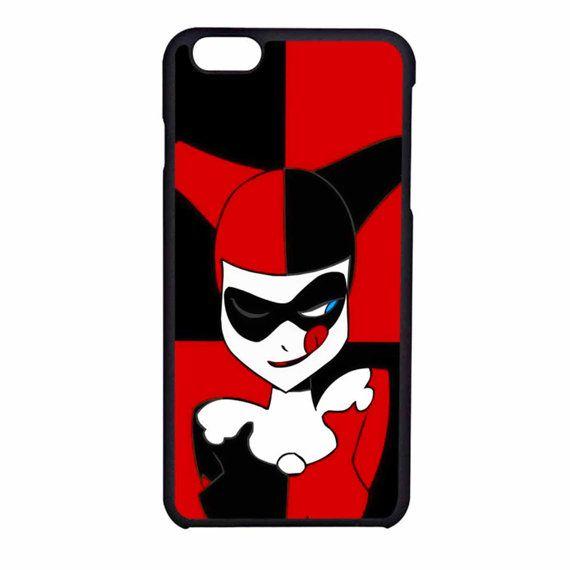 Harley Quinn Batman Joker Face 2case QW iPhone 6s/6s by slipchia