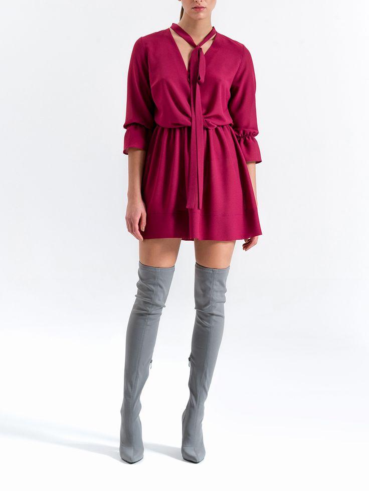 Sukienka | KOLEKCJA | -SPEKTROOM Kombinezon | KOLEKCJA | -SPEKTROOM #lookbook #fashion #jumpsuit #dress #fashion #style #minimal #eshop #sklepinternetowy #moda #damska #online #trends #trendy #2016 #2017 #evening #model #wgsn #elle