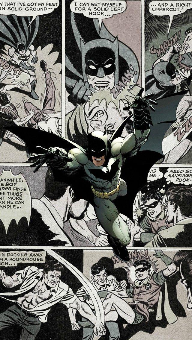 Batman Comics Iphone 5 Wallpaper
